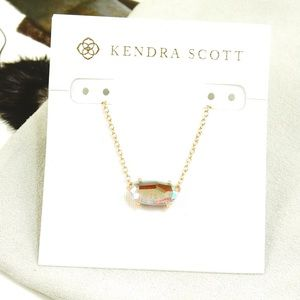 Kendra Scott Ever Necklace Dichroic Rose Gold
